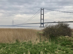 Humber Bridge after